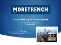 Ground Freezing for Tunnel Support